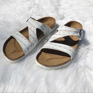 Birkenstock Birki's Nautical Anchor Sandal Size 40